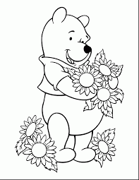 brilliant cute baby winnie pooh coloring pages winnie