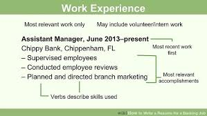 Sample Resume For Banking Job by Resume Sample No Experience Bank Teller Job Description 15 Cover