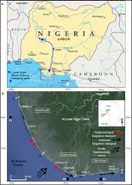 Rivers Of Africa Map by A Map Of Nigeria Showing Lower Niger Dredging Project Route
