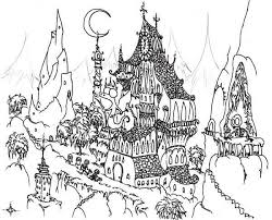 picture of haunted house to color house pictures