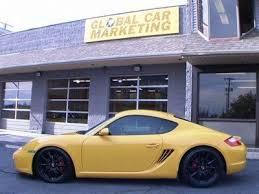 porsche cayman s finance buy used 2006 porsche cayman s speed yellow lowered 19 s
