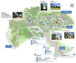 Columbia University Campus Map Facilities And Campus Map Icu International Christian University