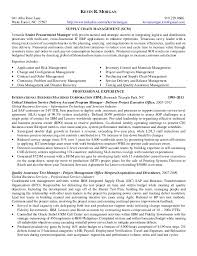 Supply Chain Resume Format Glamorous Scm Resume Format 69 With Additional Resume Format With