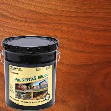 5 Expert Tips For Staining A Deck Consumer Reports by Preserva Wood 1 Gal Oil Based Redwood Penetrating Exterior Stain