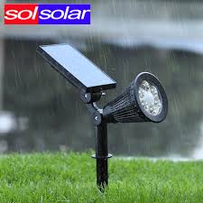 Brightest Solar Landscape Lighting - brightest solar spot lights outdoor part 43 180â angle