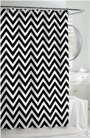 Brown And White Shower Curtains Catchy Black And White Shower Curtains And Le Bain Black And White