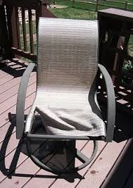 Sling Outdoor Chairs Patio Furniture Replacement Slings In Colorado With Weston Heather