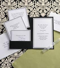wedding invitations joann fabrics wilton elegance invitation kit black white joann