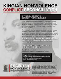 kingian nonviolence conflict resolution workshop in hartford ct