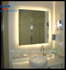 Bathroom Mirror With Built In Light Bathroom Mirror With Built In Lights My Web Value