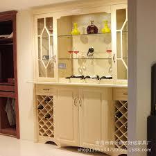 Oak Bar Cabinet Modern Minimalist Room Cabinet Office Entrance Hall Cabinet