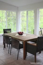 New Kitchen Table And Chairs by Sunroom Update My New Table And Chairs Hooked On Houses