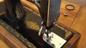 singer antique vintage manual hand crank sewing machine youtube