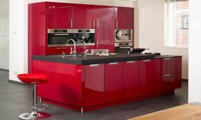 hochglanz küche rote hochglanzküche www kuechenportal de