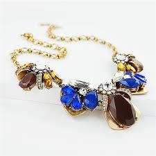 collar bib necklace images Burgundy crystal necklace mixed media statement collar bib jpg