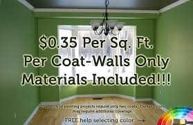 Interior Painting Price Per Square Foot Painting 9hammers