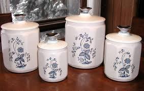kitchen canisters set vintage kitchen canister set pattern joanne russo homesjoanne