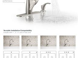 How To Install A Kohler Kitchen Faucet Kitchen 35 Brilliant Kohler Kitchen Faucets Nanobunshco Also