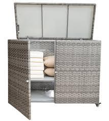 outdoor wicker storage cabinet 15601 greystone outdoor wicker storage cabinet kozy kingdom