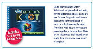 Challenge Knot Gordian S Knot Thinkfun