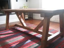 farmhouse dining table legs handmade farmhouse dining table hand made trestle farmhouse table