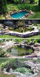 Backyard Ponds Ideas 18 Lovely Ponds And Water Gardens For Your Backyard Tiigid Ja