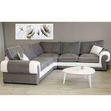 canape gris et blanc gris blanc