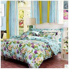 43 Best Bed In A by Teal Floral Clearance High End Seventeen Bed In A Bag Obcs072243