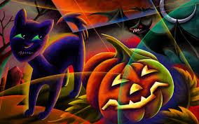wallpapers halloween trick treat halloween background holidays wallpaper 10541