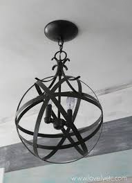 Orb Chandelier Easy And Inexpensive Diy Orb Chandelier Lovely Etc