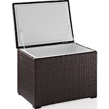 outdoor wicker cooler cart outdoor designs