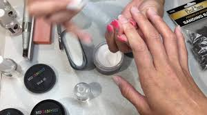 perfect way to create french tips using nugenesis dipping powder