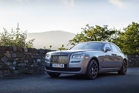 golden rolls royce rolls royce ghost black badge provides perfect luxury