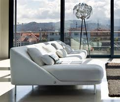 White Leather Sofa Modern Living Room Furniture Of White Living Room Decoration