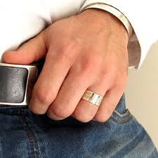 just men rings personalized sterling silver ring for men custom engraved