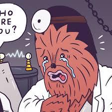 Chewbacca Memes - luke mcgarry cartoonist illustrator