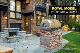 wood fired pizza oven kit kings building material