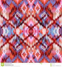 seamless ethnic intricate ikat pattern background stock