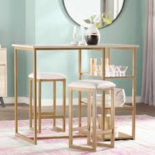 zipcode design lucai 36 pub table bar tables sets modern contemporary designs allmodern