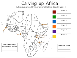 Imperialism In Africa Map by Imperialism April Smith U0027s Technology Class