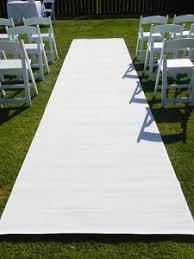 Wedding Aisle Runners White Aisle Runner Wedding Carpet 8m Length