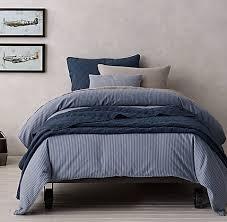 garment dyed ticking stripe bedding collection rh baby u0026 child