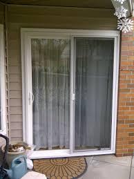 andersen gliding patio door backyards installing sliding glass dog door vinyl installation