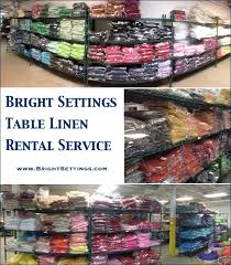 tablecloths rental we rent tablecloths the bright ideas