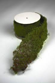 moss ribbon artificial moss ribbon roll for fairy garden miniature garden