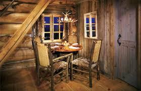 interior inside a small log cabins small rustic cabin interior