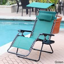 Oversized Zero Gravity Lounge Chair Oversized Zero Gravity Sunshade Chair With Drink Tray Set Of 2