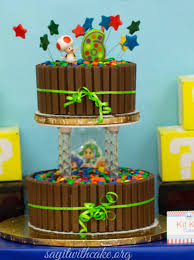 mario cake mario 3d world party say it with cake