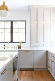 Kitchen Cabinet Paint Colors Emily Henderson Blue Grey Kitchen With Concrete Tiles In Bold