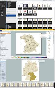 Map Of Germany Cities by Maps Of Germany With Cities Infographic Software The Sample Of